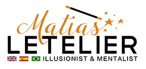 Matias Letelier - Zoom Magician/Mentalist for virtual events