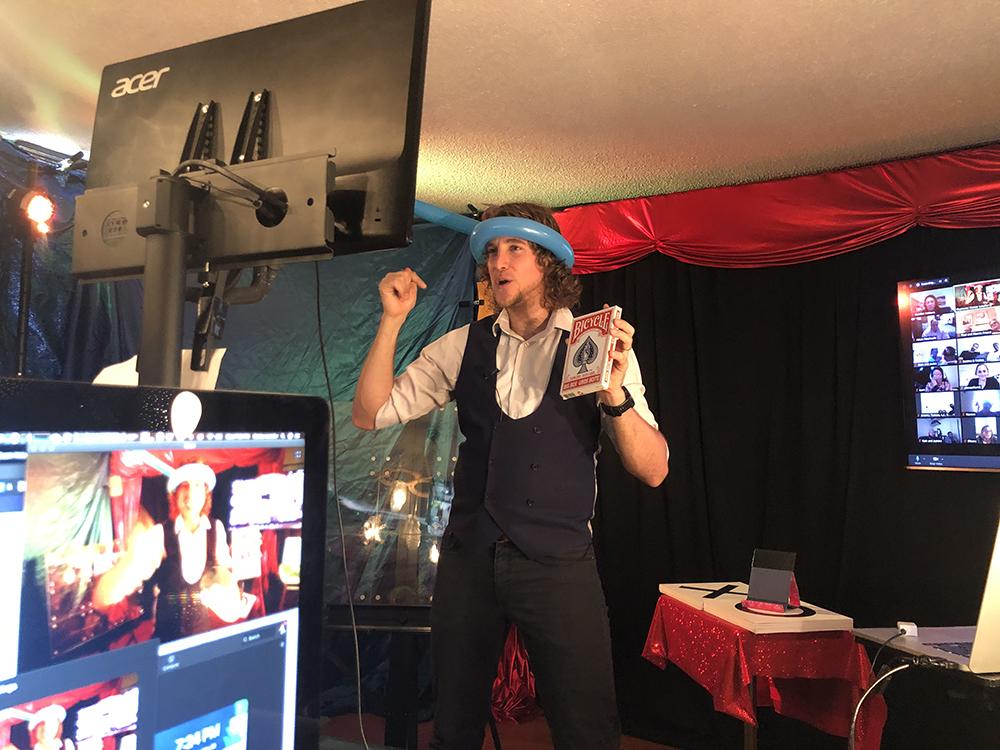 Virtual Magic Show - Balloon Antena